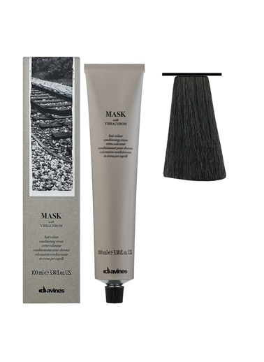 Davines Davines Mask Vibrachrom Saç Boyası 5,11 Yogun Küllü Açık Kahve 100 Ml Renksiz